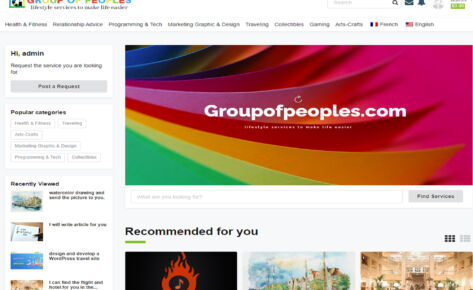 Group of Peoples Website